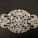 Bridal Crystal rhombus cake dress scarf decoration Rhinestone Brooch pin PI542