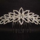 Bridal Rhinestone Headpiece Headwear Prom Crystal bling Hair tiara Comb RB387