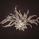 Bridal Dress decoration Vintage style Rhinestone Brooch pin PI416