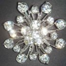 Bridal Rhinestone Crystal Vintage Style Brooch pin PI07
