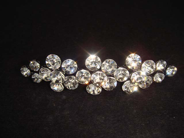 Bridal bling crystal Vintage style Rhinestone Brooch pin PI342