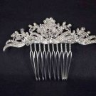 Bridal Rhinestone headdress vintage style crystal Hair tiara Comb RB481