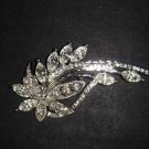 Bridal scarf dress cake decoration crystal Rhinestone Brooch pin PI492