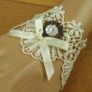 Sexy Lolita Rhinestone rose flower bead  bow gothic ribbon Bracelet BR276
