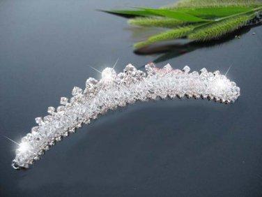 Bridal Rhinestone crystal headpiece Hair headdress Tiara RB561