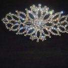 Bridal Rhinestone Crystal topknot Headdress Headpiece Hair tiara HR186