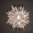 Bridal Crystal cake scarf dress decoration Rhinestone Brooch pin PI494