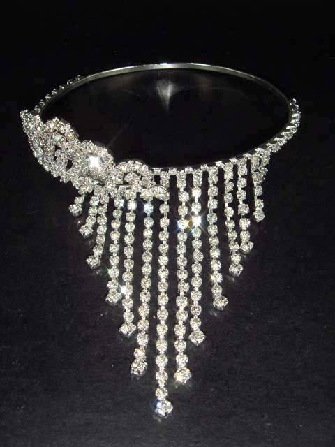 Bridal Wedding crystal Rhinestone Bangle Bracelet Armlet BR82