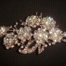 Bridal dress scarf dress decoration crystal Rhinestone Brooch pin PI372