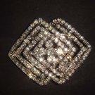 Bridal Vintage Style Czech crystal Rhinestone Brooch pin PI507