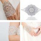 Bridal Rhinestone crystal Hair tiara armlet bracelet BR382
