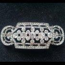 Bridal vintage style crystal Rhinestone brooch pin PI593
