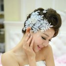 Bridal Rhinestone Adjustable forehead  flower lace Hair tiara topknot HR218