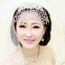 Bridal dangle Rhinestone forehead deco Maang tikka Hair crown tiara HR281