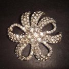 Bridal Crystal Czech Rhinestone Brooch pin PI230