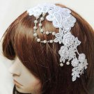 Bridal Prom lace bead dance Hair tiara headband HR263