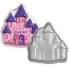 "10 X 9 "" Bakeware Enchanted Castle Birthday Cake Baking Pan Jello Mold BM04"