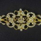 Bridal Crystal Corsage Czech Vintage style Rhinestone Brooch pin Pi180