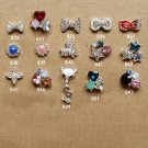 Wholesale 15 pcs bling Rhinestone 3D Nail Art Decoration DIY lot ND1