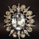 Bridal Bridesmaid Corsage Crystal Rhinestone Brooch pin PI142