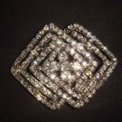 Bridal Vintage Style Corsage Czech  crystal Rhinestone Brooch pin PI507