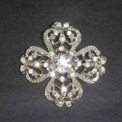 Bridal Corsage Crystal Vintage style Corsage Czech Rhinestone Brooch pin PI36