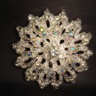 Bridal Vintage style Bling Corsage Czech Rhinestone Brooch pin PI223