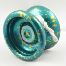 Personalize Aluminum green Yoyo YY1-BUY 6 can engrave your name on it