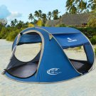 3-4 Pop-up Beach Tent Camping fishing UV Protective Shelter Cover Outdoor T14