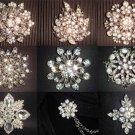 22 cm HANDMADE Wedding Brooch Bouquet Artificial Flower Faux pearl Posy WB27