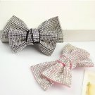 2 pcs Bow prom elegant rhinestone Repair dance Shoe bag Charm SA41