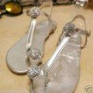 2 pcs silver gold pair Bridal Prom round Repair Rhinestone Shoe Charm  SA33