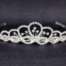 Bridal Rhinestone Crystal Prom princess head Headpiece crown Hair tiara HR190