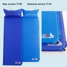 Outdoor Self-Inflating Mattress Pad Pillow Camping Hiking Picnic Sleep mat T11B