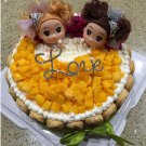 Bridal Love Rhinestone Wedding Birthday Party Anniversary Cake Topper BM25