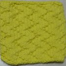 Knitted Serviette Pattern: Zany Zigzags
