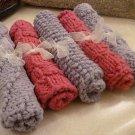 Pink and Lavender Slightly Damaged Serviettes 5pack