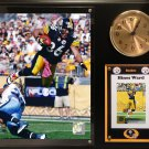Hines Ward Pittsburgh Steelers Photo Plaque clock.