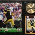 Ben Roethlisberger Pittsburgh Steelers Photo Plaque clock.