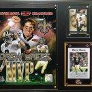 Drew Brees New Orleans Saints Photo Plaque