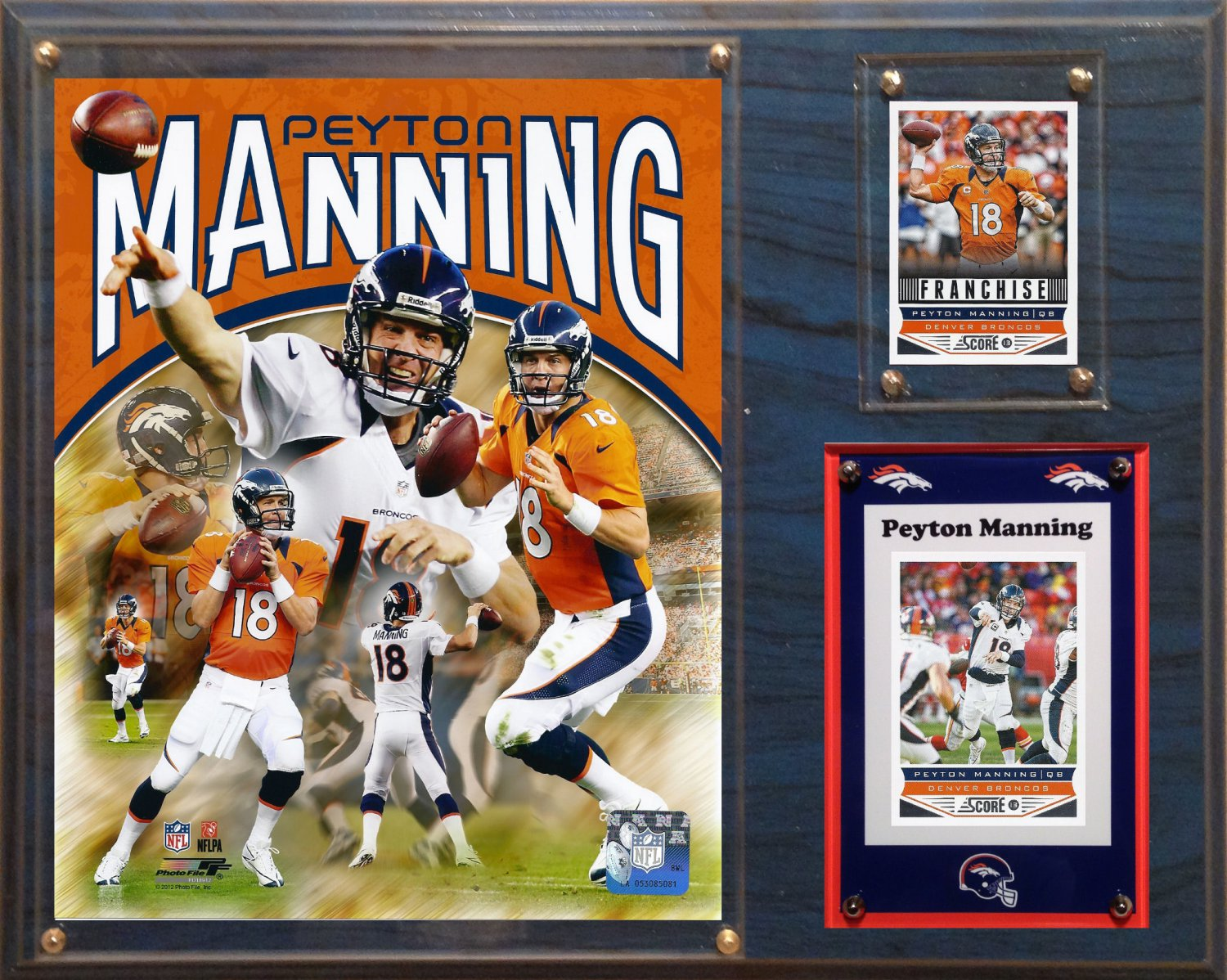 Peyton Manning Denver Broncos Photo Plaque