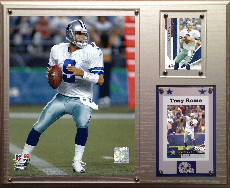 Tony Romo Dallas Cowboys Photo Plaque.