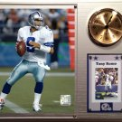 Tony Romo Dallas Cowboys Photo Plaque clock.