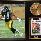 Troy Polamalu Pittsburgh Steelers Photo Plaque clock.