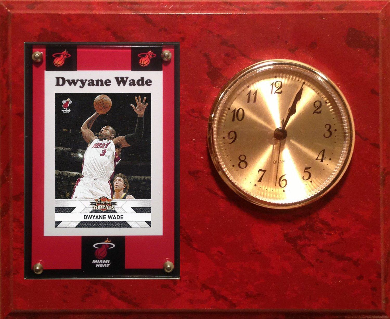 Dwyane Wade Miami Heat clock.