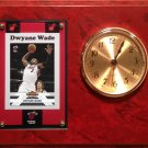 Dwyane Wade Miami Heat clock.
