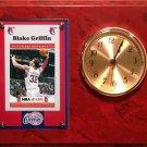 Blake Griffin Los Angeles Clippers clock.