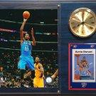 Kevin Durant Oklahoma City Thunder Photo Plaque clock.