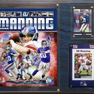 Eli Manning New York Giants Photo Plaque
