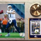 Phillip Rivers San Diego Chargers Photo Plaque clock.